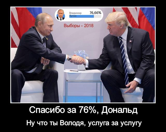 76% Путина